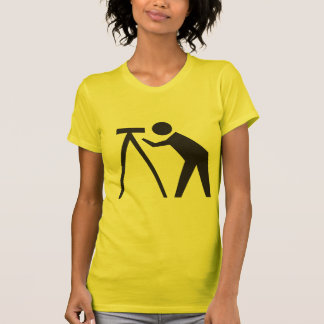 Land Surveyor at Work Women's T Shirt