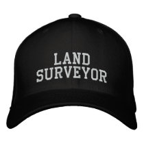 Land Surveyor Embroidered Baseball Cap