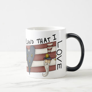Land That I Love Magic Mug