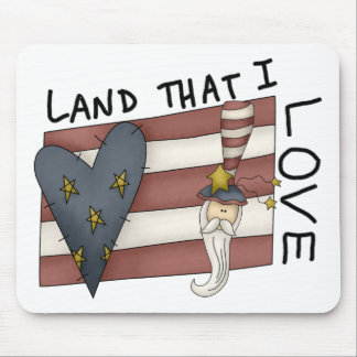 Land That I Love Mouse Pad