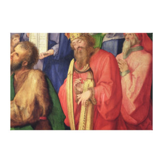 Landauer Altarpiece: King David, 1511 Canvas Print