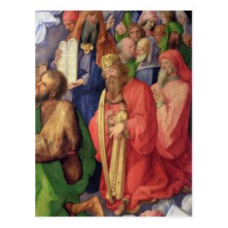 Landauer Altarpiece: King David, 1511 Postcard