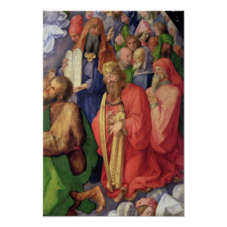 Landauer Altarpiece: King David, 1511 Poster