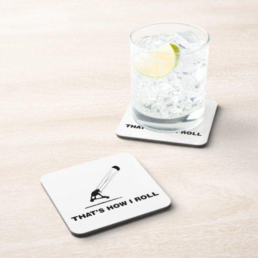 Landboarding Beverage Coasters