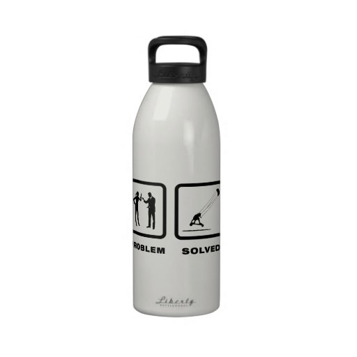 Landboarding Reusable Water Bottle