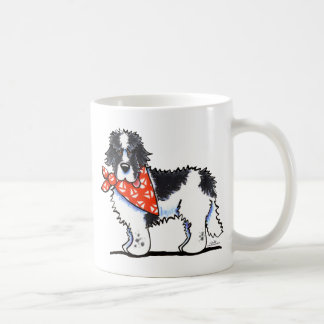 Landeer Newfie Sailor Coffee Mug