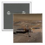 Lander 2 de Phoenix Marte Pin Cuadrada 5 Cm