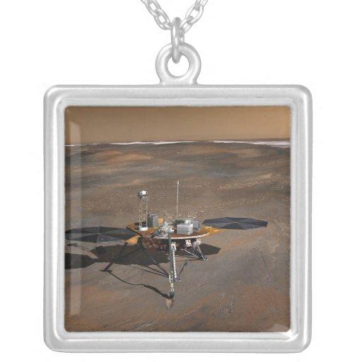 Lander 3 de Phoenix Marte Colgante Cuadrado
