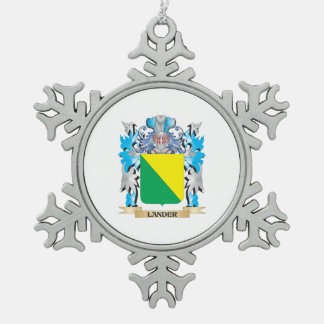 Lander Coat of Arms - Family Crest Ornaments