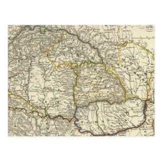 Lander de Hungría desde 1526 Tarjetas Postales