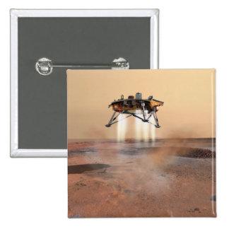 Lander de Phoenix Marte Chapa Cuadrada 5 Cm