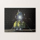 Lander lunar - representación del artista rompecabeza