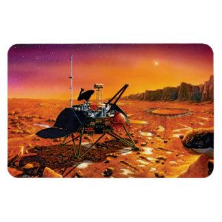 Lander polar de Marte Imanes De Vinilo