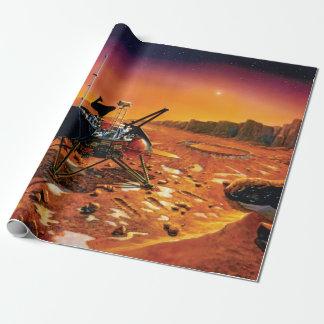 Lander polar de Marte Papel De Regalo