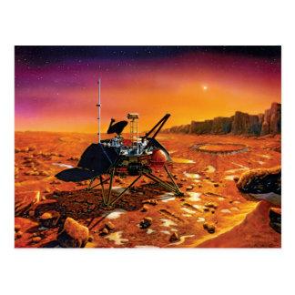Lander polar de Marte Postales