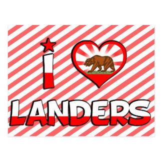 Landers, CA Postales