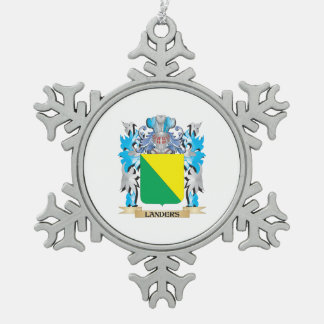 Landers Coat of Arms - Family Crest Ornaments