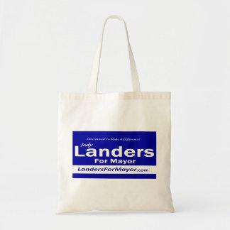 Landers for Mayor Bag