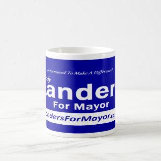 Landers para alcalde Mug Taza Clásica