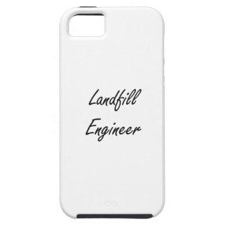 Landfill Engineer Artistic Job Design iPhone 5 Covers