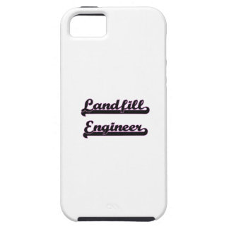 Landfill Engineer Classic Job Design iPhone 5 Cases