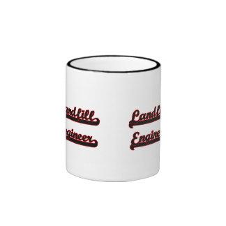Landfill Engineer Classic Job Design Ringer Coffee Mug