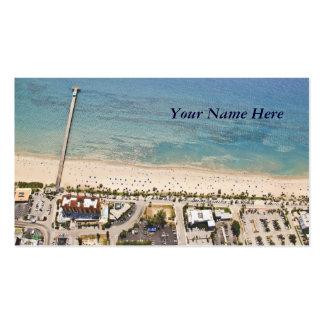 Landforms Aerial Business Card