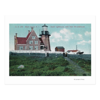 Landhouse View of the South Lighthouse Postcard