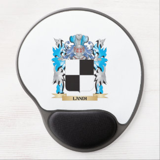 Landi Coat of Arms - Family Crest Gel Mouse Pad