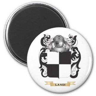 Landi Coat of Arms (Family Crest) Fridge Magnets