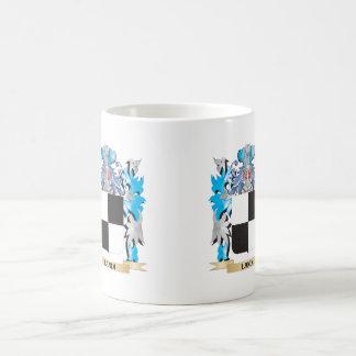 Landi Coat of Arms - Family Crest Classic White Coffee Mug