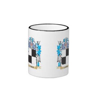 Landi Coat of Arms - Family Crest Ringer Coffee Mug