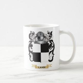 Landi Coat of Arms (Family Crest) Classic White Coffee Mug
