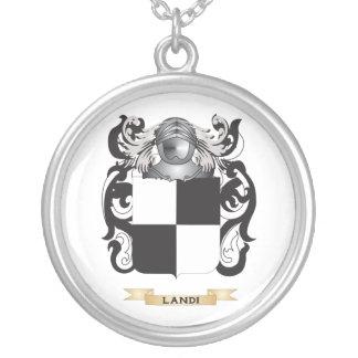 Landi Coat of Arms (Family Crest) Custom Necklace