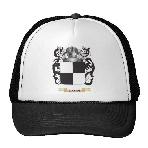 Landi Coat of Arms (Family Crest) Trucker Hat