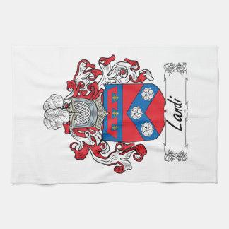 Landi Family Crest Towels