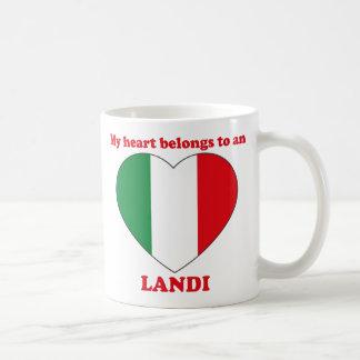 Landi Classic White Coffee Mug