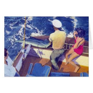 Landing a Sailfish Card