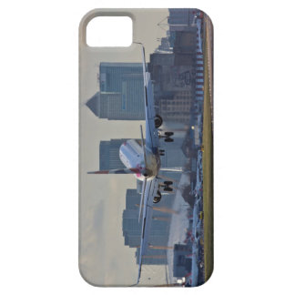 Landing at London City airport iPhone 5 Case