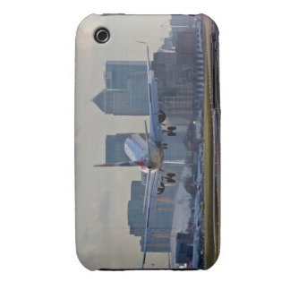 Landing at London City airport iPhone 3 Case-Mate Cases