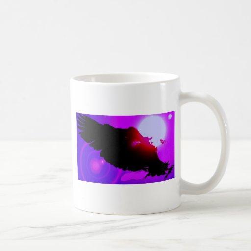 Landing Bald Eagle Classic White Coffee Mug
