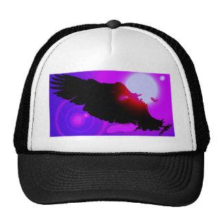 Landing Bald Eagle Trucker Hat
