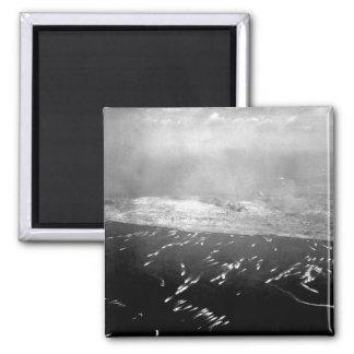 Landing craft brings first wave _War Image Magnet