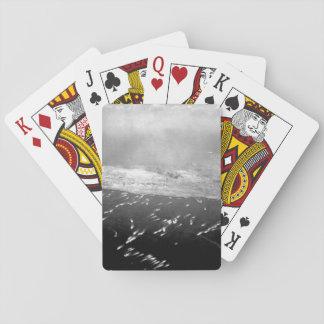 Landing craft brings first wave _War Image Playing Cards