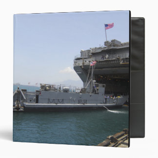 Landing Craft Utility moving into position Binder