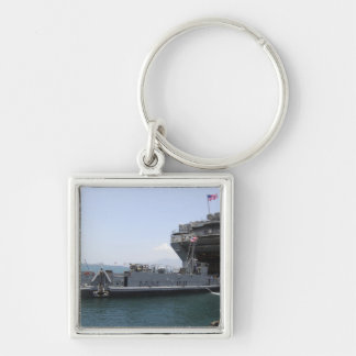 Landing Craft Utility moving into position Keychain