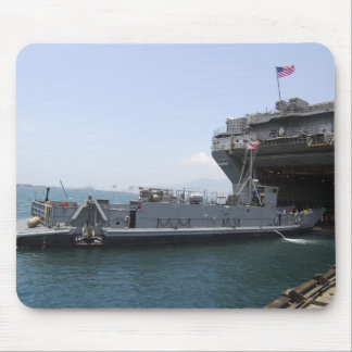 Landing Craft Utility moving into position Mouse Pad
