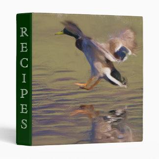 Landing Duck binder
