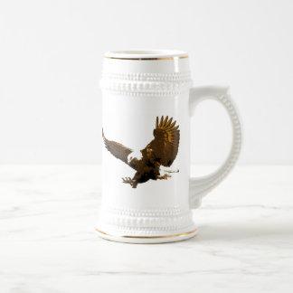Landing Eagle Beer Stein