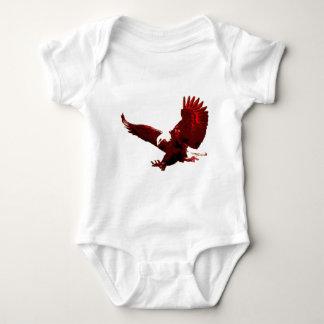 Landing Eagle - Eagle in Flight Baby Bodysuit